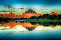 Mount Moran Sunrise from the Oxbows