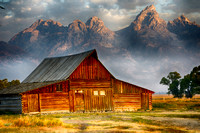 Sunrise - Mormon Row - Grand Teton National Park