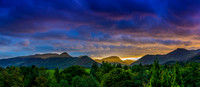 Sunset - Keswick, England