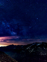 Milky Way over Rocky Mountain National Park, Colorado