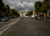 Champs-Elysees Boulevard - Paris