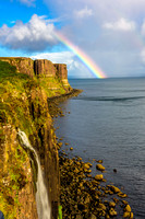 Rainbow near Mealt Falls and Kilt Rock