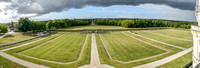 Chambord Grounds from Chateau