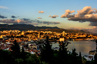 Split at Dusk from View Terrace by Vidilca Cafe