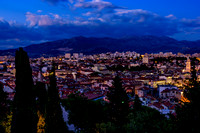 Split at Twilight from View Terrace by Vidilca Cafe