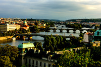 Vltava River and Prague