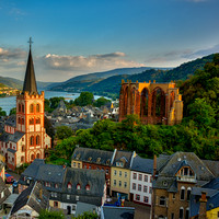 Bacharach Germany and the Rhine River